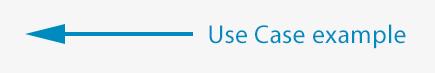 use case arrow